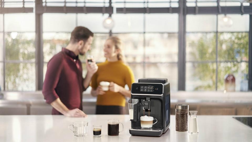 Новые автоматические кофемашины Philips с сенсорным дисплеем - Новости | Philips