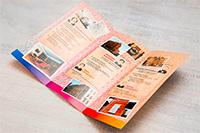 Буклеты по содержанию и дизайну
