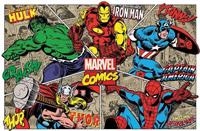 Особенности комиксов Марвел