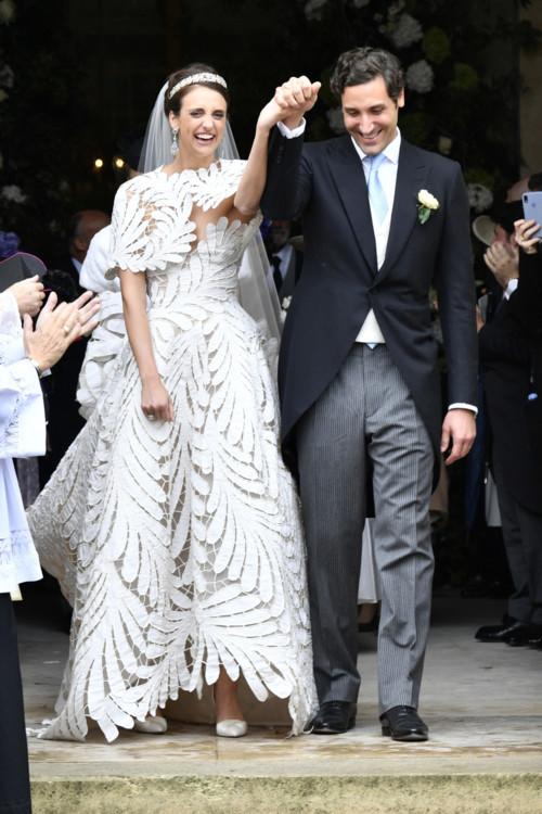 Свадьба Олимпии фон унд Арку-Циннеберг и принца Жана-Кристофа Наполеона