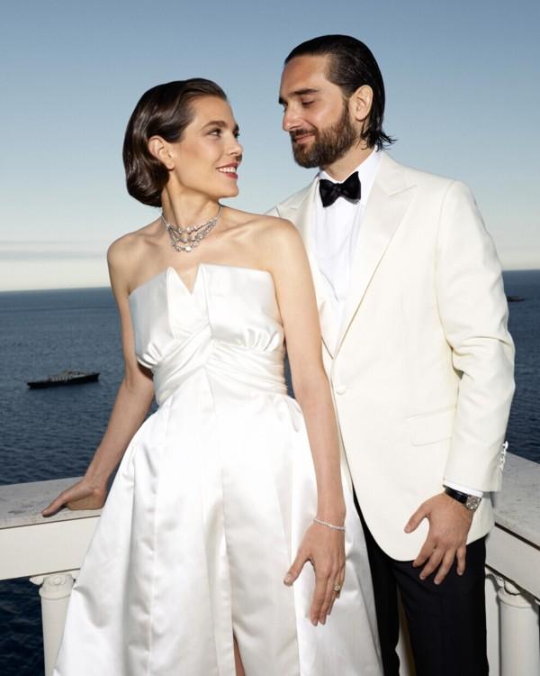 Свадьба принцессы Шарлотты Казигари и Димитри Рассами
