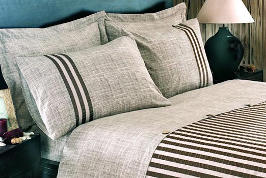 Льняное постельное белье фото