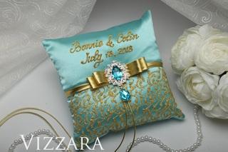 свадебная подушка