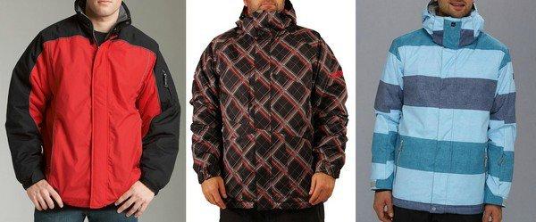 Каталог спортивных мужских курток