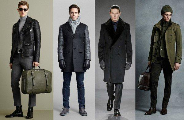 разные материалы курток для мужчин