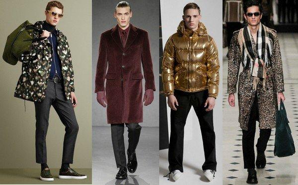 разноцветные мужские куртки