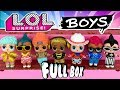 BOY LOL DOLLS LOL Surprise Boys Series Full Box Opening Pt 3 SIS VS BRO LOL Doll Videos LOL Surprise