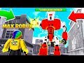 Spending MAX ROBUX to Fight 1,000,0000,0000 POWER MECH BOSS.. (Roblox)