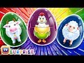 What's in the Egg? Game - ChuChu TV Surprise Eggs Learning Videos For Children