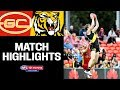 Lynch returns to face Suns | Gold Coast v Richmond Highlights | Round 16, 2019 | AFL