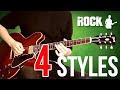 Jazz vs Blues vs Rock vs Metal - 4 STYLES IN 1 SOLO