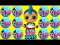 LOL Surprise BOY SERIES New Boy Dolls + Boys Basketball Game