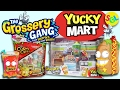 Grossery Gang Yucky Mart Exclusive Playset & Corny Chips Unboxing Toy Review Stop Motion