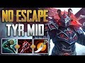 TYR FRAGS EVERYWHERE! Tyr Mid Gameplay (SMITE Conquest)