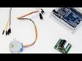 Шаговый двигатель 28BYJ-48 с драйвером ULN2003 - Подключение к Arduino