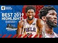 Joel Embiid BEST Highlights & Moments from 2018-19 NBA Season! Best BIG MAN in the League?