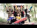 Xgirl Nerf War: Clash Of The Fight Against Criminals