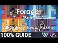 Forager (Beta) - 100% Guide: All Galaxy Tower Puzzles (Fire Frozen Ancient Skull)
