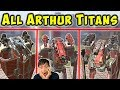 All New ARTHUR TITANS Gameplay - War Robots Test Server WR