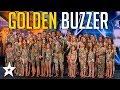 Sensational Dance Crew Get Tyra Banks GOLDEN BUZZER on America's Got Talent | Got Talent Global