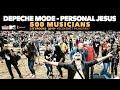 Depeche Mode - Personal Jesus - 500 Hungarian musicians - Cityrocks Hungary - Kecskemét 2019