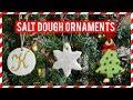 HOW TO MAKE CHRISTMAS SALT DOUGH ORNAMENTS | Simply Dovie