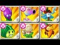 All Magic Plants Level 999999 vs Dark-Ages Final Boss Fight! Mod in Plants vs. Zombies 2 Gameplay