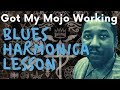 Got My Mojo Working (Muddy Waters) blues harmonica lesson