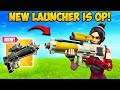 *NEW* PROXIMITY LAUNCHER IS INSANE!! - Fortnite Funny Fails and WTF Moments! #586