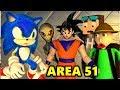 RAID AREA 51 vs SONIC & BALDI CHALLENGE MOVIE Ft. GOKU (official) Minecraft Horror Animation Video