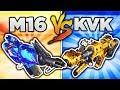 M16 vs KVK 99m! (BO3 DLC WEAPON FACE OFF) BLACK OPS 3 DLC WEAPON SUPPLY DROP OPENING!