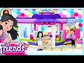 Lego Friends Emma's Art Cafe Build Silly Play Review Kids Toys