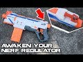 FIXING THE NERF REGULATOR! Easy, drop-in mod kit tutorial! | Walcom S7