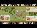 KvK Adventures F2P épisode 1: Guide premiers pas dans Rise of Kingdoms (Android ios PC).