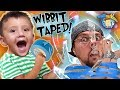 HOW NOT TO USE TAPE!  (FV Family Wibbit Vlog)