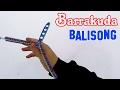 Barrakuda Balisong Unboxing + Ersteindruck