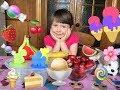 Как сделать фруктовое МОРОЖЕНОЕ В ДОМАШНИХ УСЛОВИЯХ   Маричка Лисичка ВЛОГ   Семейный канал