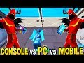 PC vs CONSOLE vs MOBILE! *FASTEST* EDITING and BUILDING SPEEDS! - Fortnite