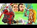Защищая Башню БолтушкА и ПРоХоДиМеЦ Встретили ЛЕЧИТЕЛЯ Людей! #100 Игра для Детей - Tower Conquest