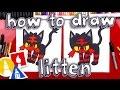 How To Draw Litten Pokemon