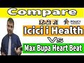 Icici Lombard i Health Vs Max Bupa Heart Beat | Health Insurance | Policy Bhandar | Yogendra Verma