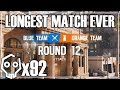 Rare 12 Round Ranked Match, Double Overtime - Rainbow Six Siege