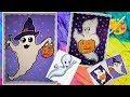 Рисунки на Хэллоуин. Как нарисовать приведение.  How to draw a ghost
