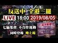 【完整公開】LIVE 反送中》全港三罷 七區集會 不合作運動同時登場 晚上場