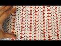 УЗОРЫ КРЮЧКОМ ажурные: ОРИГИНАЛЬНЫЙ УЗОР и СХЕМА // для летнего кардигана, платья, юбки НАЧИНАЮЩИМ