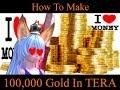 How To Make 100,000 Gold in TERA Online (TERA Machinima)