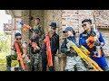 LTT Game Nerf War : Warriors SEAL X Nerf Guns Fight Inhuman Group Car Thief