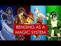 On Writing: magic systems and storytelling [ Avatar TLA/LOK bending analysis ]