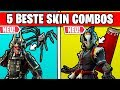 Top 5 BESTE Skin Kombinationen für neue Skins | Fortnite Season 6 Deutsch German