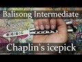 Нож бабочка. Chaplin's Icepick. Балисонг трюки - флиппинг средний уровень